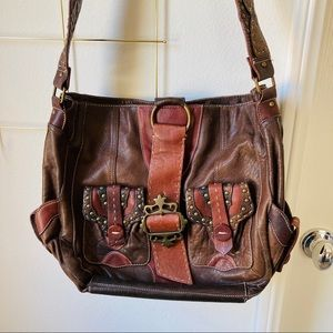 Betsy Johnson leather purse